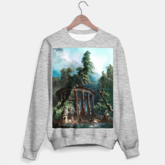 Thumbnail image of The Bathing Pool by Hubert Robert 2nd Edition Sweater regular, Live Heroes