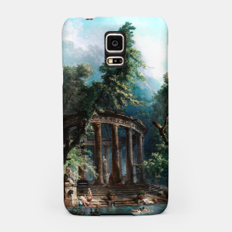 Thumbnail image of The Bathing Pool by Hubert Robert 2nd Edition Samsung Case, Live Heroes