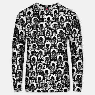 Thumbnail image of Pure Evil Unisex sweater, Live Heroes