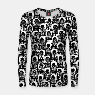 Thumbnail image of Pure Evil Women sweater, Live Heroes