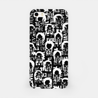 Miniatur Pure Evil iPhone Case, Live Heroes