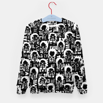 Thumbnail image of Pure Evil Kid's sweater, Live Heroes