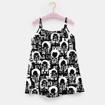 Miniatur Pure Evil Girl's dress, Live Heroes