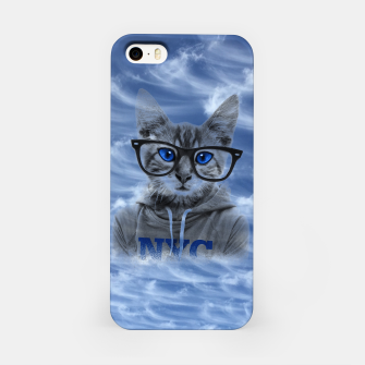 Miniaturka NY Cat and Blue Sky iPhone Case, Live Heroes