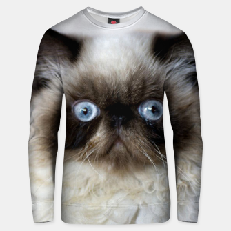 Thumbnail image of Funny Cat Unisex sweater, Live Heroes