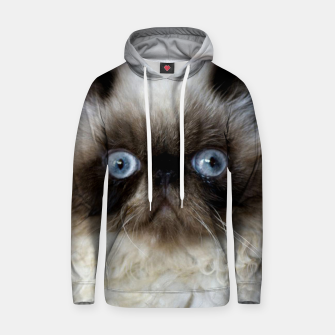 Thumbnail image of Funny Cat Hoodie, Live Heroes