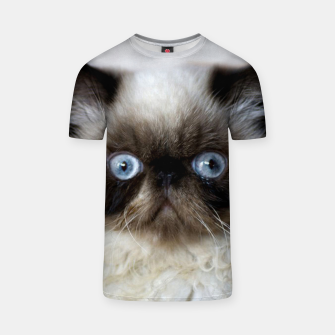 Thumbnail image of Funny Cat T-shirt, Live Heroes