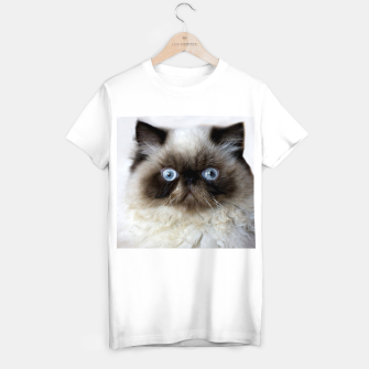 Thumbnail image of Funny Cat T-shirt regular, Live Heroes