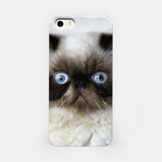 Thumbnail image of Funny Cat iPhone Case, Live Heroes