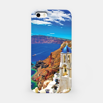 Santorini Greece Island Cyclades Volcano Caldera iPhone Case thumbnail image
