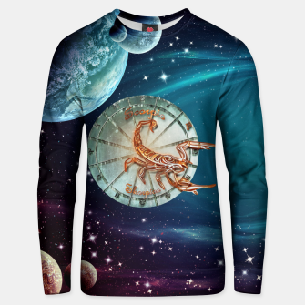 Thumbnail image of Scorpio and Planets Unisex sweater, Live Heroes