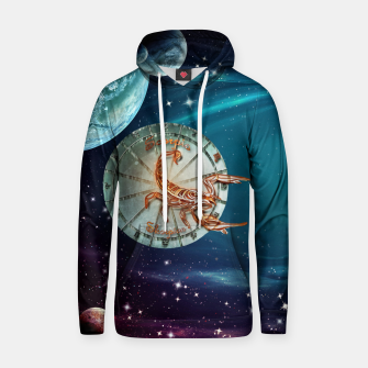 Thumbnail image of Scorpio and Planets Hoodie, Live Heroes