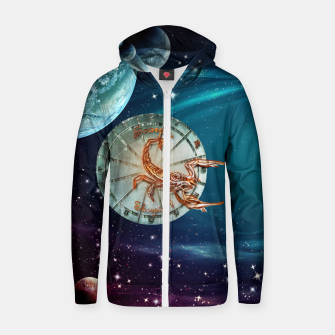 Thumbnail image of Scorpio and Planets Zip up hoodie, Live Heroes