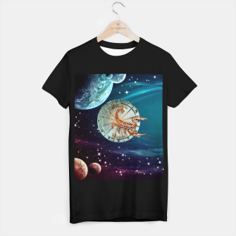 Thumbnail image of Scorpio and Planets T-shirt regular, Live Heroes