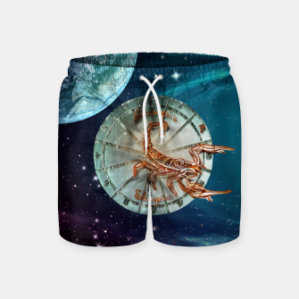 Thumbnail image of Scorpio and Planets Swim Shorts, Live Heroes