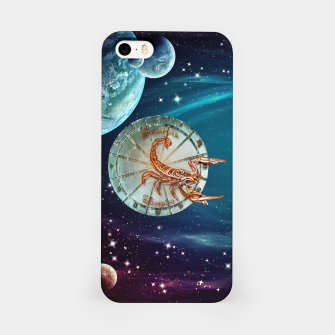 Thumbnail image of Scorpio and Planets iPhone Case, Live Heroes