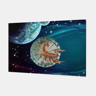 Thumbnail image of Scorpio and Planets Canvas, Live Heroes