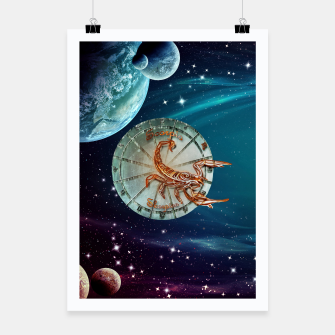 Thumbnail image of Scorpio and Planets Poster, Live Heroes