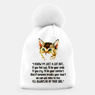 Miniaturka Cats Quotes Love My Cat  Beanie, Live Heroes
