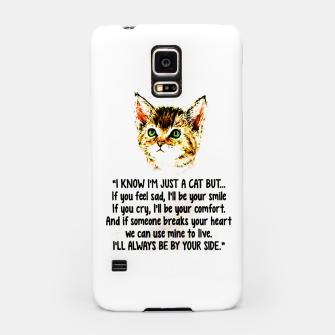 Miniaturka Cats Quotes Love My Cat  Samsung Case, Live Heroes