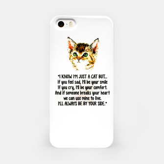 Miniaturka Cats Quotes Love My Cat  iPhone Case, Live Heroes