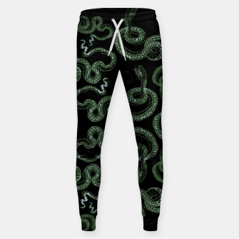 Thumbnail image of Green snakes Sweatpants, Live Heroes