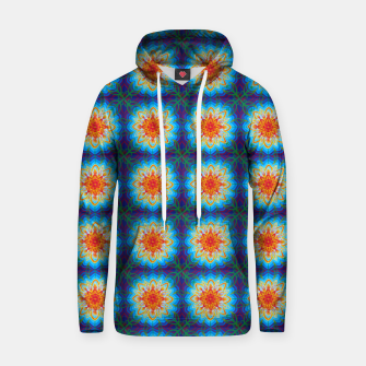 Thumbnail image of Sunflower Pattern Hoodie, Live Heroes