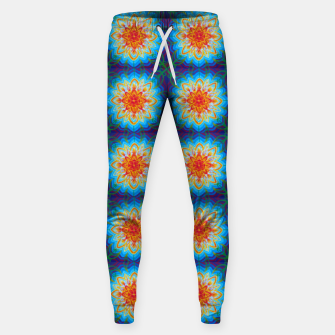Thumbnail image of Sunflower Pattern Sweatpants, Live Heroes