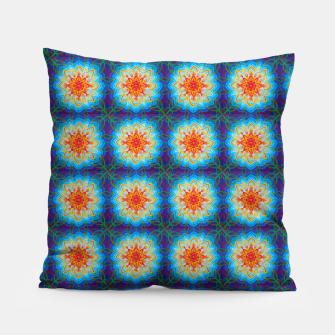 Thumbnail image of Sunflower Pattern Pillow, Live Heroes