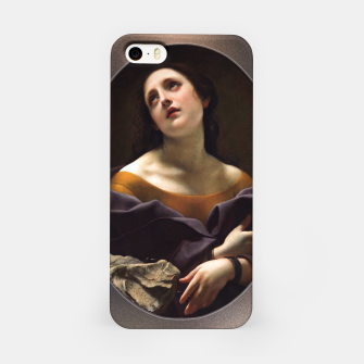 Thumbnail image of Allegory of Patience by Carlo Dolci iPhone Case, Live Heroes