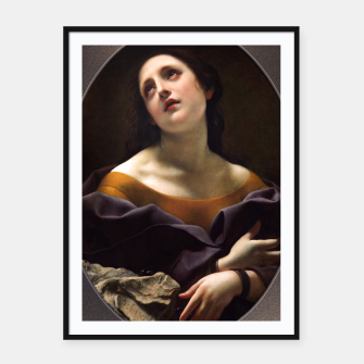 Thumbnail image of Allegory of Patience by Carlo Dolci Framed poster, Live Heroes