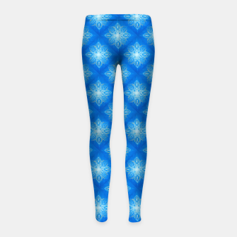 Thumbnail image of Sunburst Pattern Girl's leggings, Live Heroes