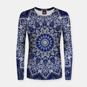 Thumbnail image of Andalusia Traditional Moroccan Mandala Alhambra Women sweater, Live Heroes