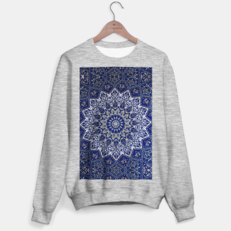 Andalusia Traditional Moroccan Mandala Alhambra Sweater regular obraz miniatury