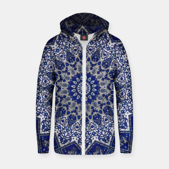 Thumbnail image of Andalusia Traditional Moroccan Mandala Alhambra Zip up hoodie, Live Heroes