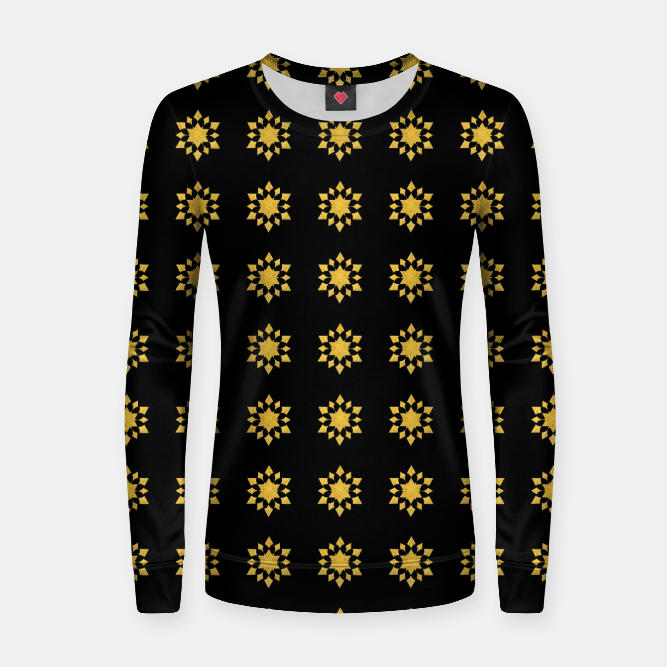 Image of Communication Wealth Amulet Pattern Women sweater - Live Heroes