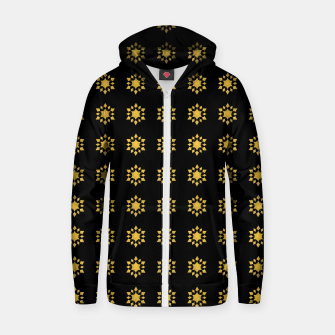 Communication Wealth Amulet Pattern Zip up hoodie thumbnail image