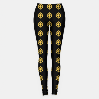 Communication Wealth Amulet Pattern Leggings thumbnail image