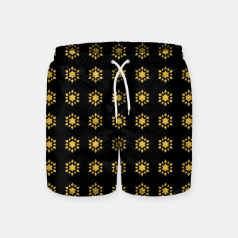Communication Wealth Amulet Pattern Swim Shorts thumbnail image