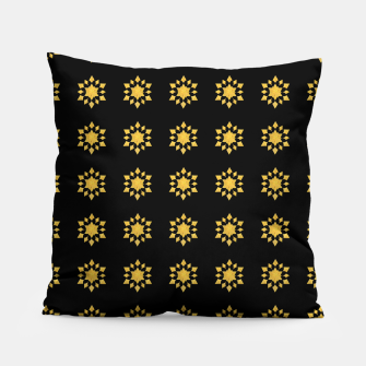 Thumbnail image of Communication Wealth Amulet Pattern Pillow, Live Heroes