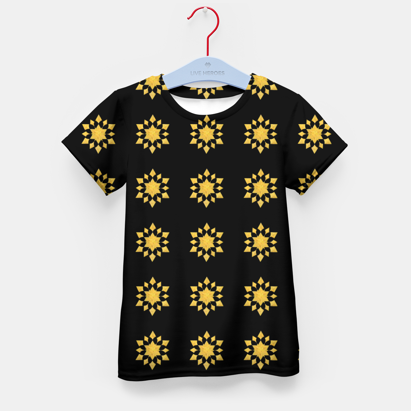 Image of Communication Wealth Amulet Pattern Kid's t-shirt - Live Heroes