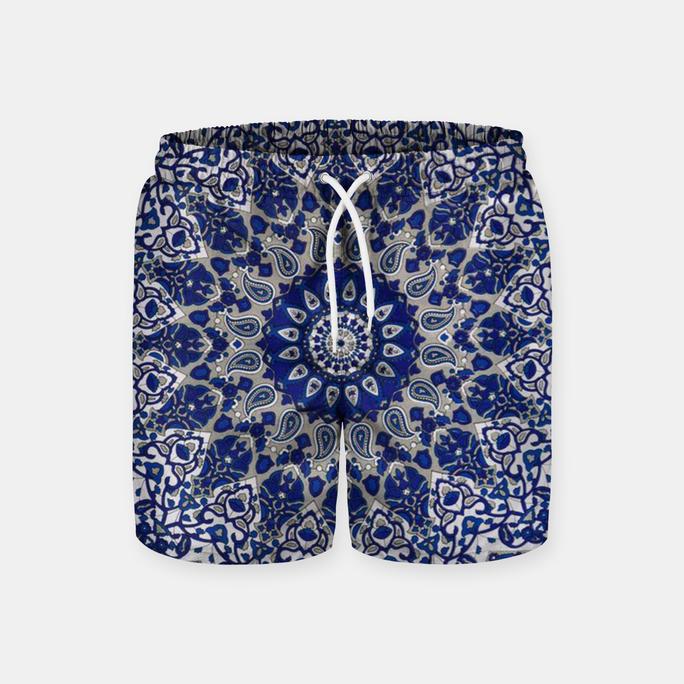Zdjęcie Andalusia Traditional Moroccan Mandala Alhambra Swim Shorts - Live Heroes