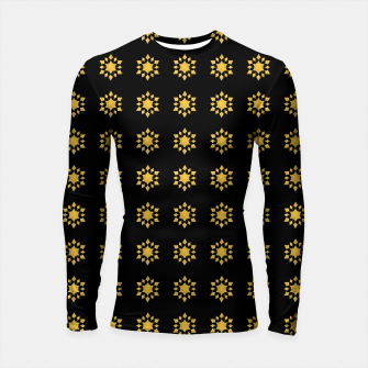 Thumbnail image of Communication Wealth Amulet Pattern Longsleeve rashguard , Live Heroes
