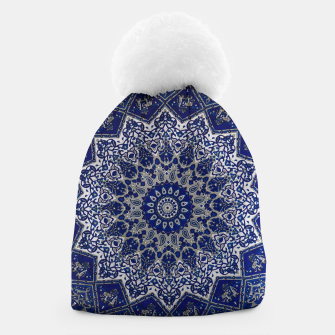 Thumbnail image of Andalusia Traditional Moroccan Mandala Alhambra Beanie, Live Heroes
