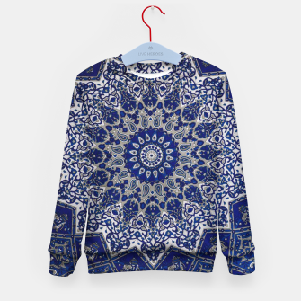 Thumbnail image of Andalusia Traditional Moroccan Mandala Alhambra Kid's sweater, Live Heroes