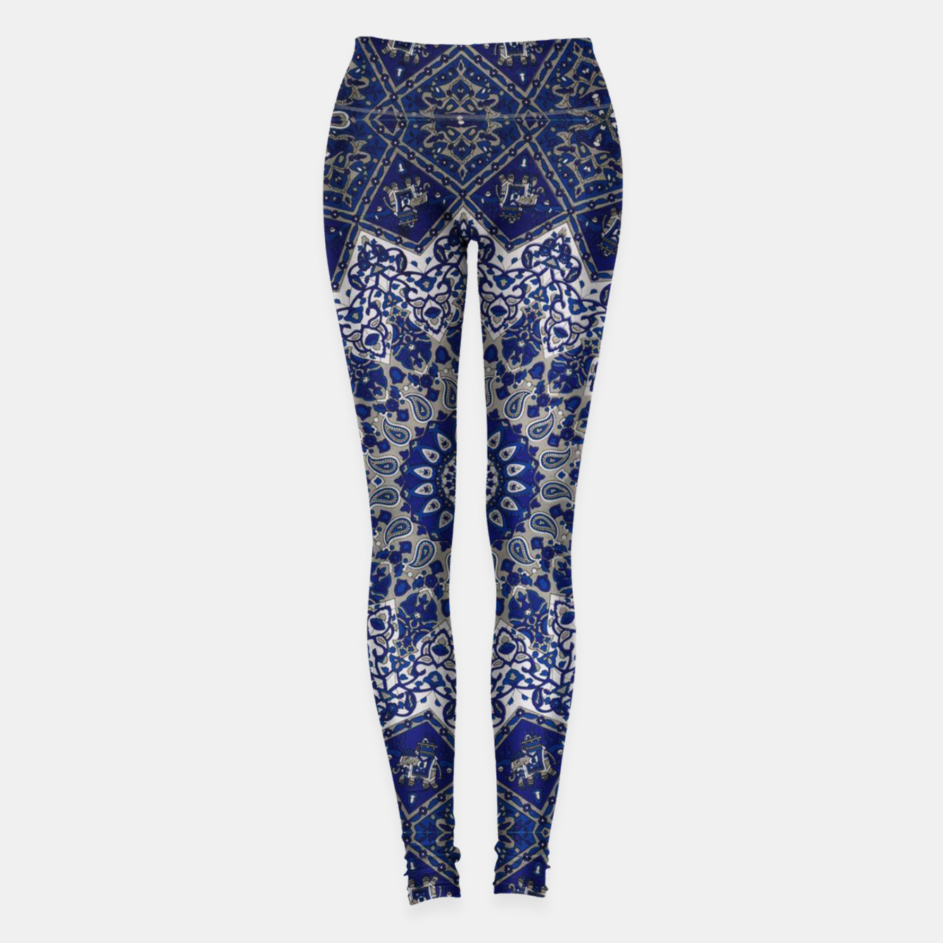 Zdjęcie Andalusia Traditional Moroccan Mandala Alhambra Leggings - Live Heroes