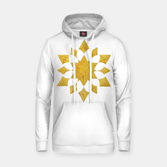 Thumbnail image of Communication Wealth Amulet on white Hoodie, Live Heroes