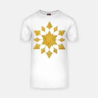Thumbnail image of Communication Wealth Amulet on white T-shirt, Live Heroes