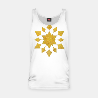 Thumbnail image of Communication Wealth Amulet on white Tank Top, Live Heroes