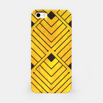 Miniatur Art Deco - Golden Age - 07 iPhone Case, Live Heroes